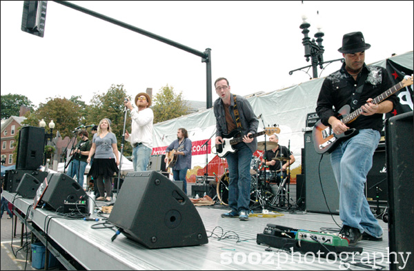 OldJack perform at Harvard Square Oktoberfest 2011